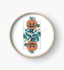 Pumpkin Player Clock