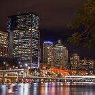 Brisbane by Night 2 by LizSB