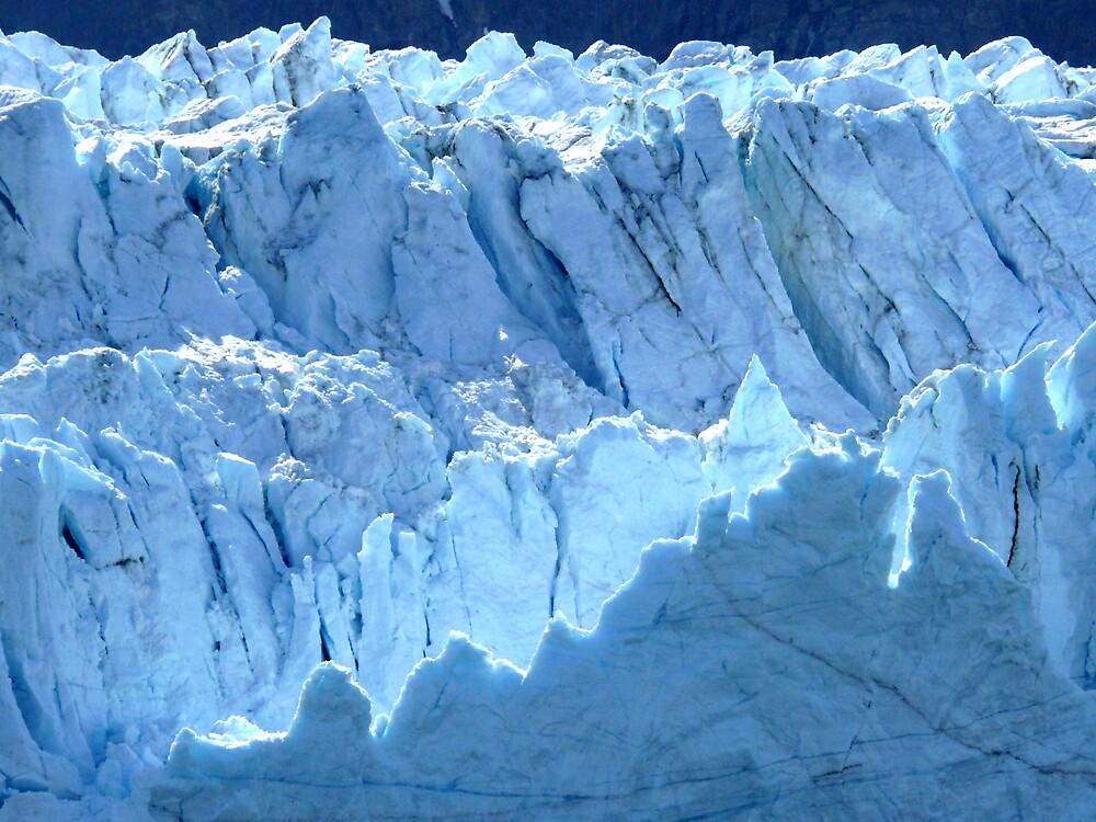 Glacier Blue by Liz Wear
