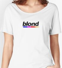 Underlined blond black Women's Relaxed Fit T-Shirt