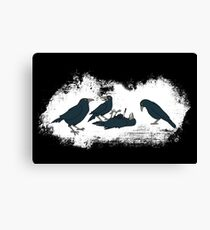 Murder of Crows Canvas Print