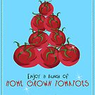 Tomatoes (Not Christmas) by Northcote Community  Gardens