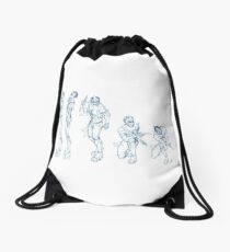 Kando Sequential Drawstring Bag