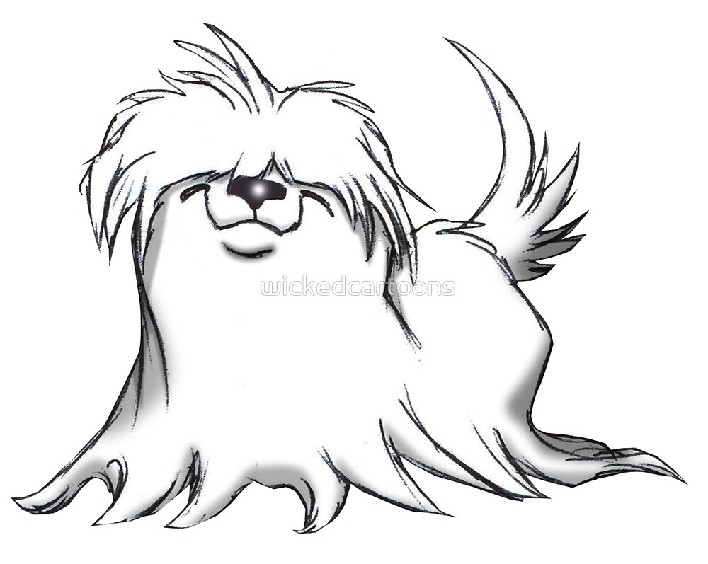 MALTESE by wickedcartoons