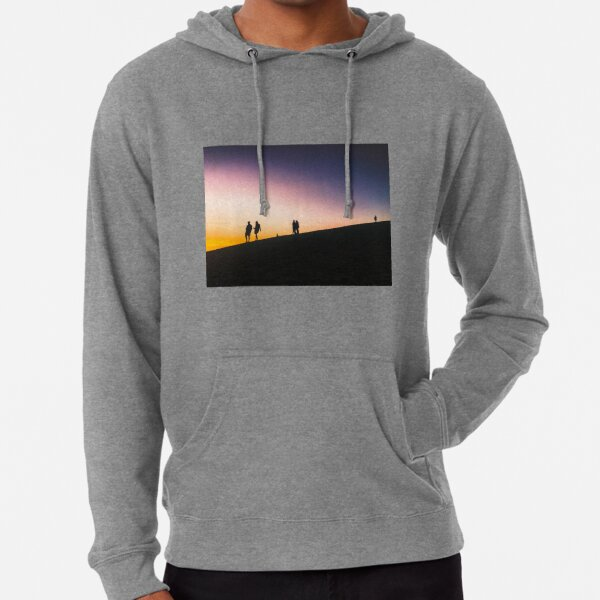 Sunset on a Hill Lightweight Hoodie