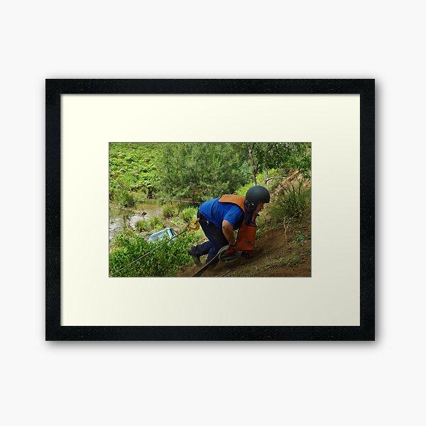 sss1-08-13 Framed Art Print