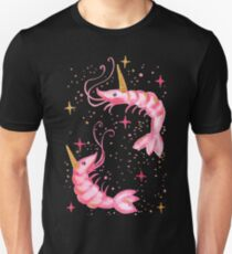 Uni-Prawn In Space - Black T-Shirt