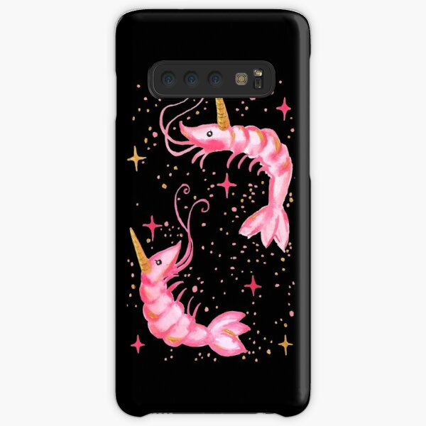Uni-Prawn In Space - Black Samsung Galaxy Snap Case