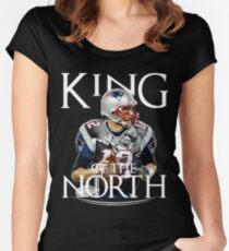 Tom Brady, King Of The North Women's Fitted Scoop T-Shirt