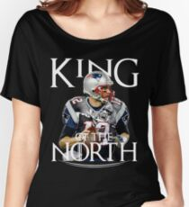 Tom Brady, King Of The North Women's Relaxed Fit T-Shirt