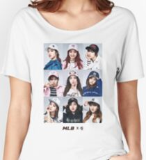 TWICE - GROUP - MLB #1 Women's Relaxed Fit T-Shirt