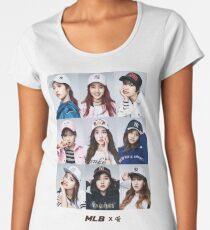 TWICE - GROUP - MLB #1 Women's Premium T-Shirt