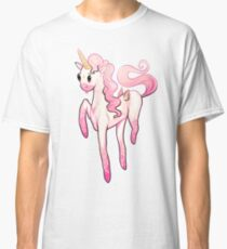 Super Cool Pink Unicorn Classic T-Shirt