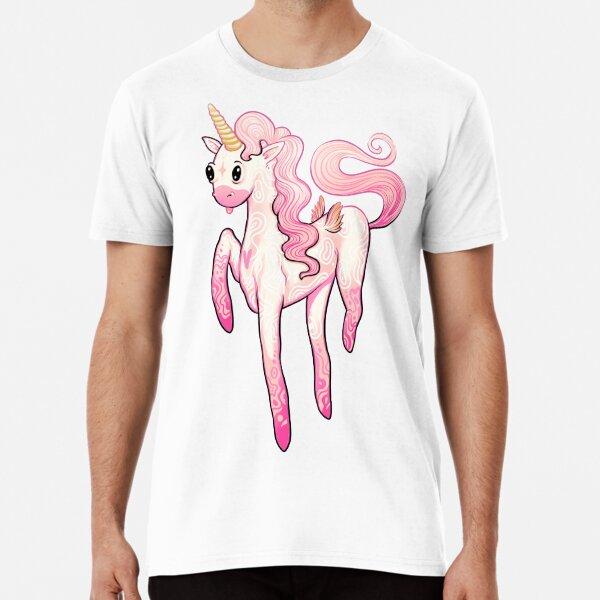 Super Cool Pink Unicorn Premium T-Shirt