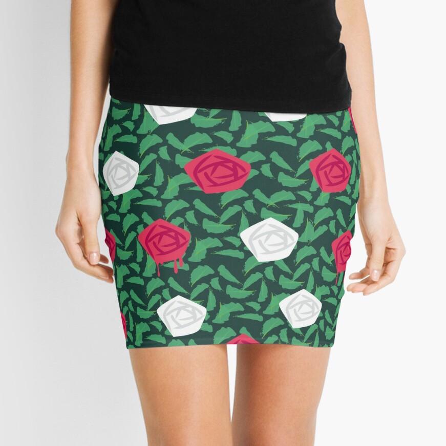 roses Mini Skirt