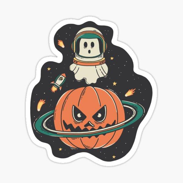 Pumpkin Planet Sticker