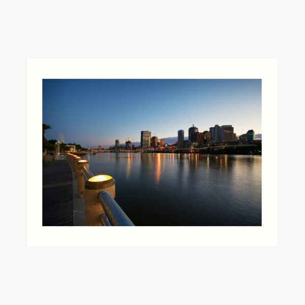 Brisbane At Dawn Art Print
