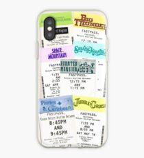 Magic Kingdom fastpass iPhone Case