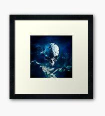 Reaper Moon Rising Framed Print