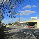 Little Town of Truro on the busy Sturt Highway, South Australia. by Rita Blom