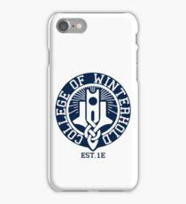 College of Winterhold Est. 1E iPhone Case/Skin