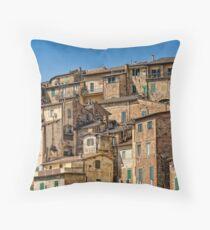 Siena / Italy Throw Pillow