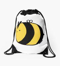 Happy Bee Drawstring Bag