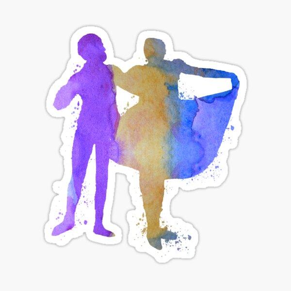 Ballet dancers Sticker