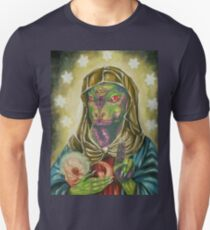 Blessed Reptilian Virgin and Child Unisex T-Shirt