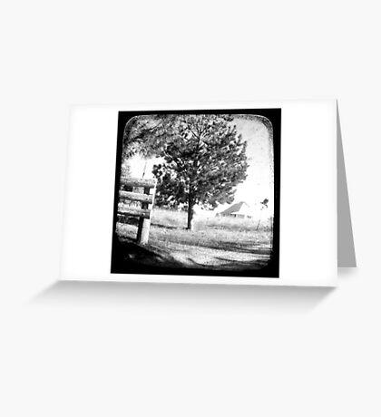 The Old Farmhouse Greeting Card