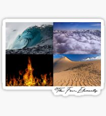 The Four Elements Sticker
