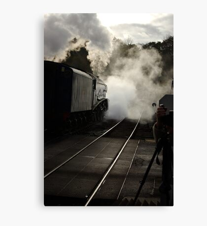 Early Morning at Grosmont Canvas Print