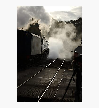 Early Morning at Grosmont Photographic Print
