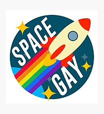 Space Gay Photographic Print