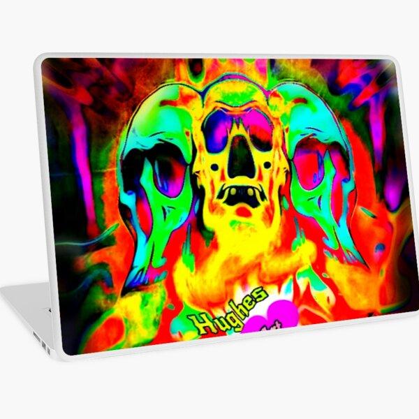 3HeadedMonster Laptop Skin