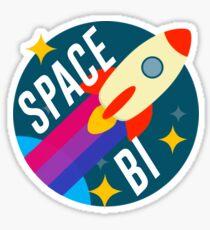 Space Bi Sticker