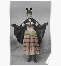 Victorian Batgirl Poster