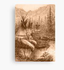 Indians Canvas Print