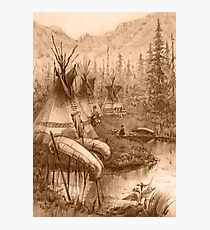 Indians Photographic Print