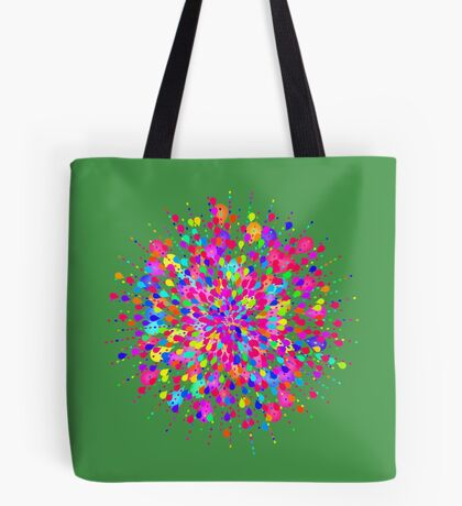 Color explosion Tote Bag