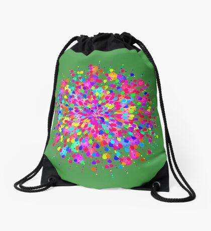 Color explosion Drawstring Bag