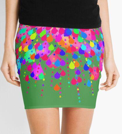 Color explosion Mini Skirt