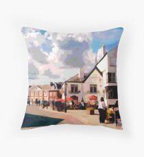Exeter Quay, Devon Throw Pillow
