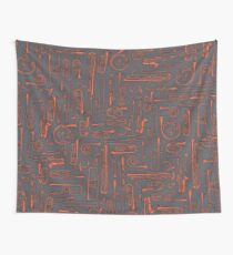 Horns COPPER Wall Tapestry