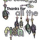 So lange und danke für den ganzen Fisch von Jenny Wood