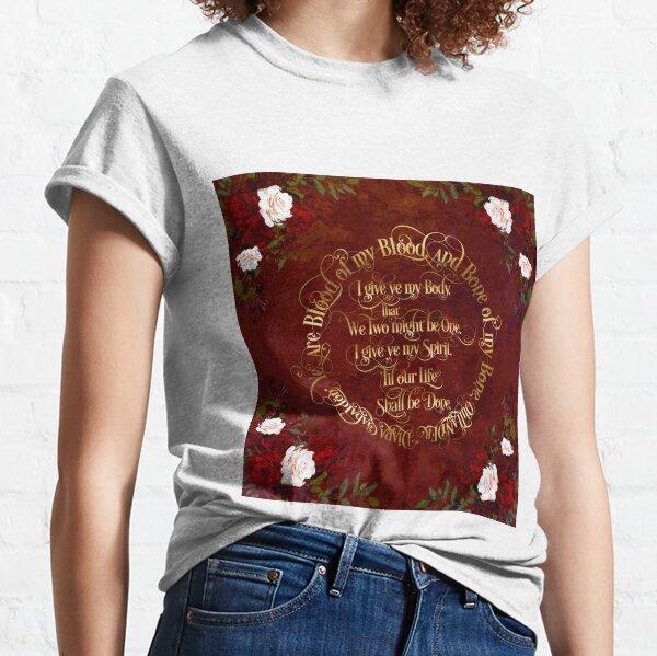 Voeux de mariage Outlander T-shirt classique