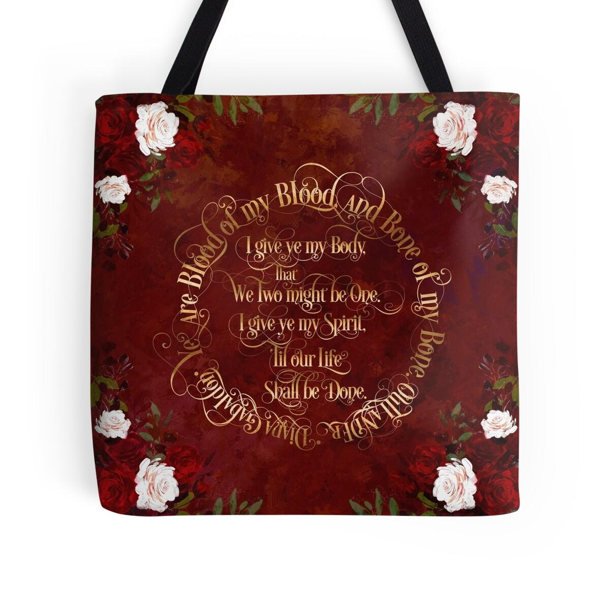 Bolsas de tela «Votos de boda Outlander» de literarylifeco | Redbubble