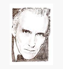 Christopher Lee Photographic Print