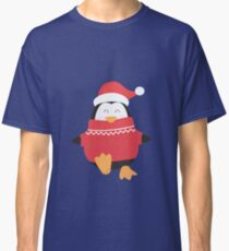 Little Penguin in Ugly Christmas Sweaters Classic T-Shirt
