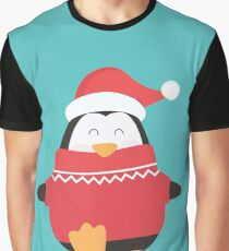 Little Penguin in Ugly Christmas Sweaters Graphic T-Shirt